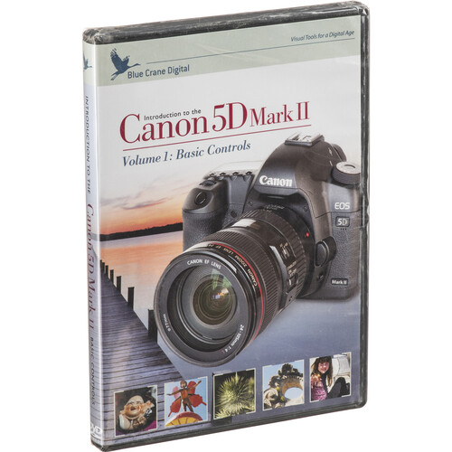 Blue Crane Digital DVD: Training DVD for Canon EOS 5D Mark II Digital Cameras (Volume One)