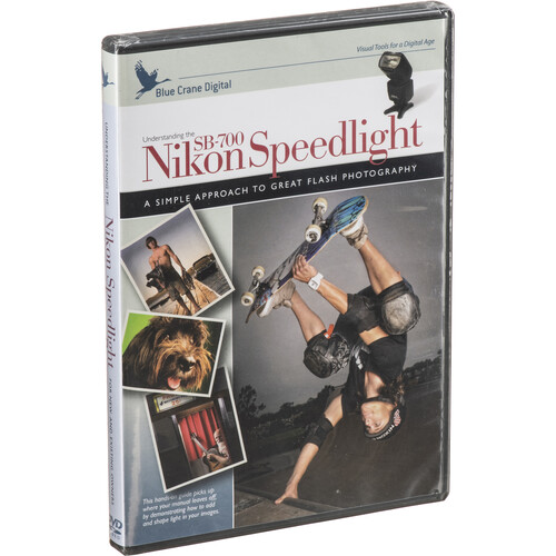 Blue Crane Digital DVD: Understanding the Nikon SB-700 Speedlight with Tim Mantoani