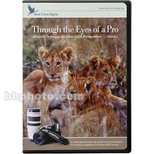 Blue Crane Digital DVD: Through the Eyes of a Pro - with Canon DSLR's Vol 2
