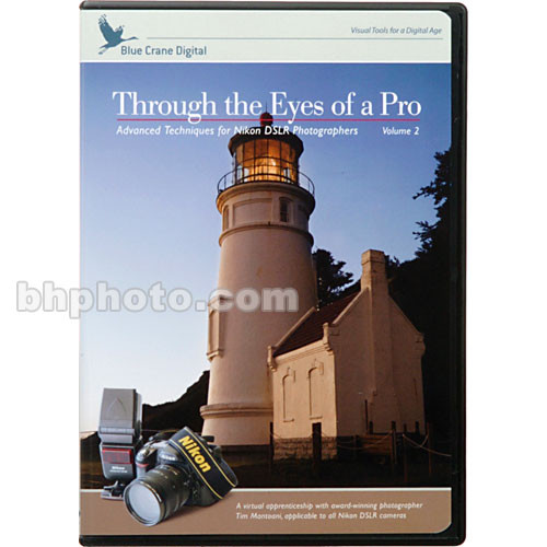 Blue Crane Digital DVD: Through the Eyes of a Pro - with Nikon DSLR's Vol 2