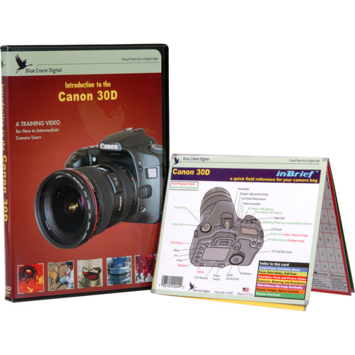 Blue Crane Digital DVD and Guide: Combo Pack for the Canon EOS 30D Digital SLR Camera