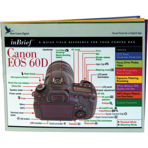 Blue Crane Digital Canon 60D inBrief Laminated Card