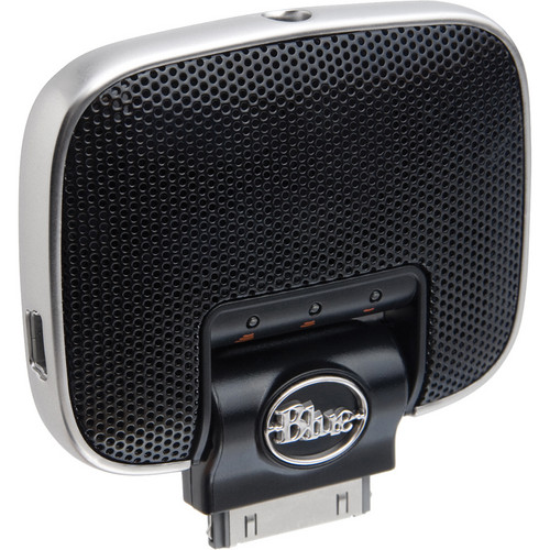 Blue Mikey Digital Microphone for iPod, iPhone and iPad