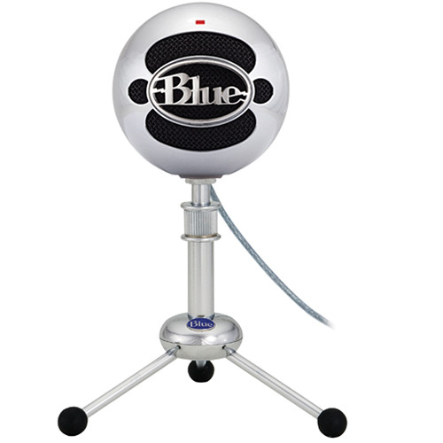 Blue Snowball USB Condenser Microphone with Accessory Pack (Brushed Aluminum)
