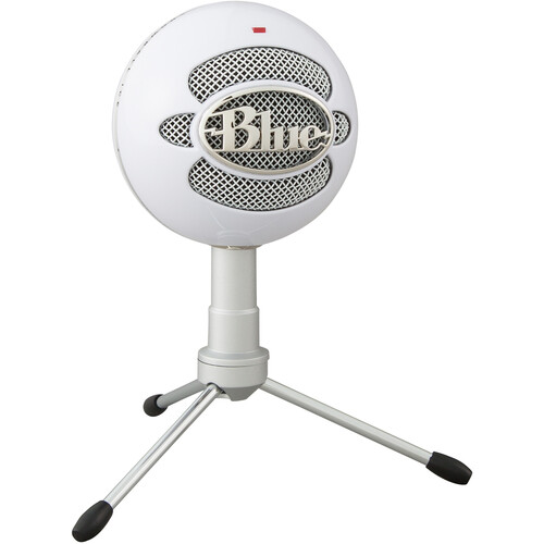Blue Snowball iCE USB Condenser Microphone with Accessory Pack (White)