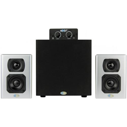 Blue Sky International eXo2 Active 2.1 Desktop Speaker Monitoring System