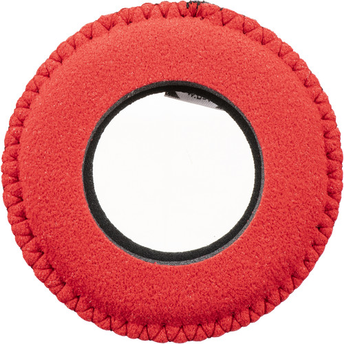 Bluestar Round Small Microfiber Eyecushion (Red)