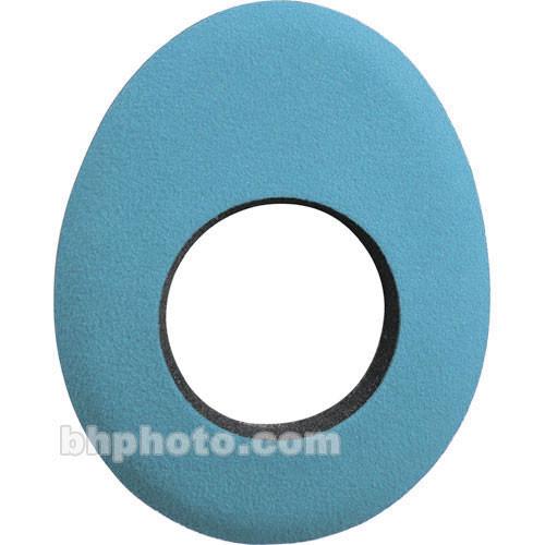 Bluestar Oval Long Microfiber Eyecushion (Blue)