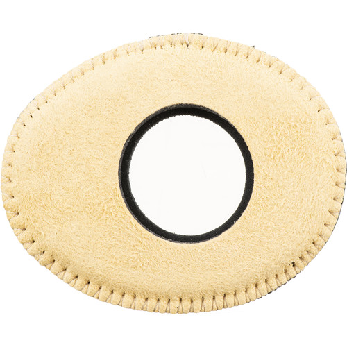 Bluestar Oval Small Chamois Eyecushion (Natural Chamois Color)