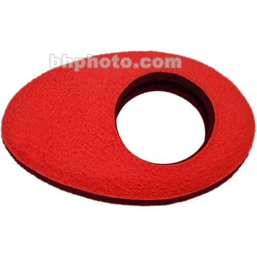 Bluestar Oval Small Fleece Eyecushion (Red)