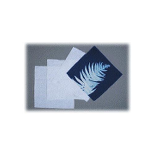 """Blue Sunprints Cyanotype Cotton Squares - 6 x 6"""" (100 Pack, White)"""