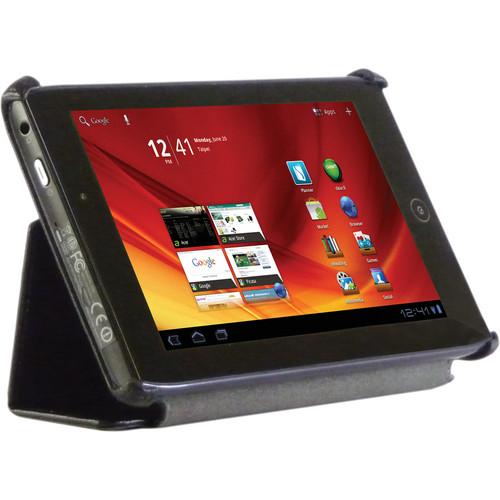 Blurex Litchi Grain Faux Leather Slim Folio Case for the Acer A100 Tablet