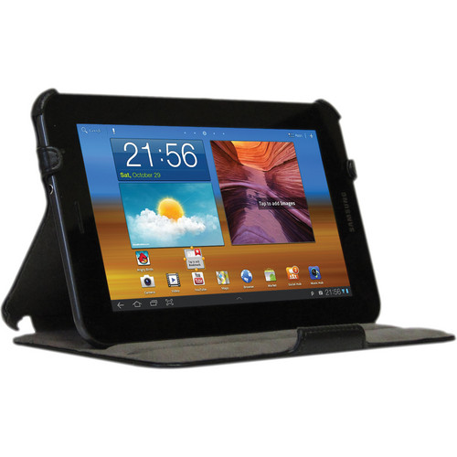 Blurex Slim Folio Case With Multi-Angle Stand for the Samsung Galaxy Tab 2 7.0 (Black)