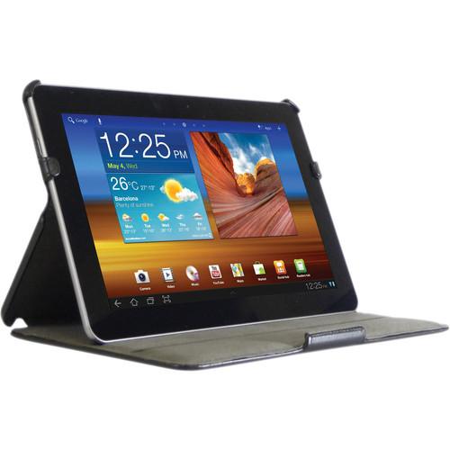 """Blurex Litchi Grain Faux Leather Slim Folio Case for Samsung Galaxy Tab 8.9"""""""