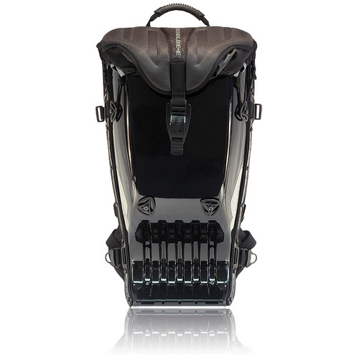 POINT 65 SWEDEN Megalopolis AERO Backpack (Darth, Glossy Black)