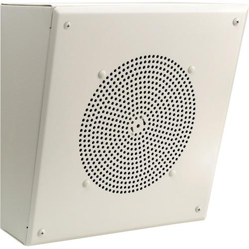 "Bogen Communications AMBSL1 8"" Metal Box Speaker with Internal 1W Amplifier (Angled)"