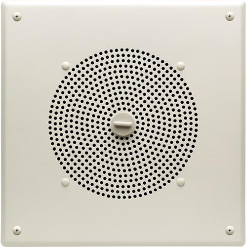 """Bogen Communications AMBSQ1 8"""" Metal Box Speaker with Internal 1W Amplifier  (Squared)"""