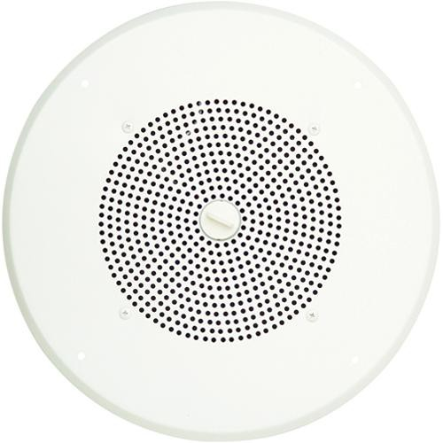 "Bogen Communications ASUG1DK 8"" 1W Amplified Ceiling Speaker with Detachable Volume Knob (Bright White)"