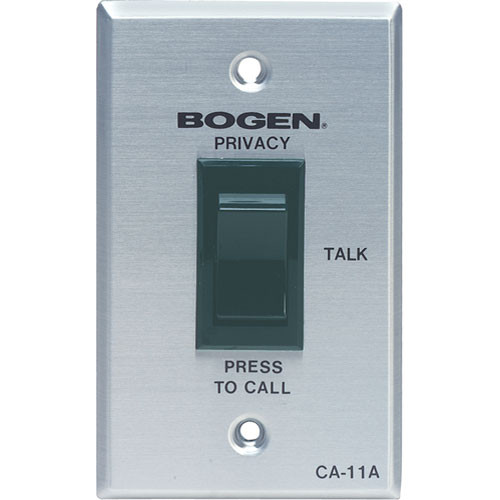 Bogen Communications CA-11A Call-In Switch for PI135A, SI135A and Graphic Series Paging Systems