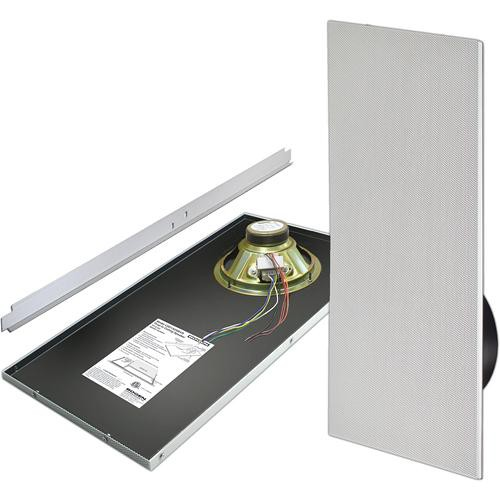 Bogen Communications CSD1X2 - Drop-in Ceiling Mounted Speaker with Recessed Volume Control (Bright White )