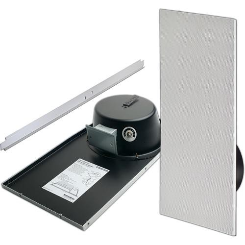 Bogen Communications CSD1X2 - Drop-in Ceiling Mounted Speaker with Back Can & Recessed Volume Control (Off White)