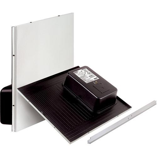 Bogen Communications CSD2X2VR - Drop-in Ceiling Mounted Speaker with Back Can (70V/25V) (Off White)