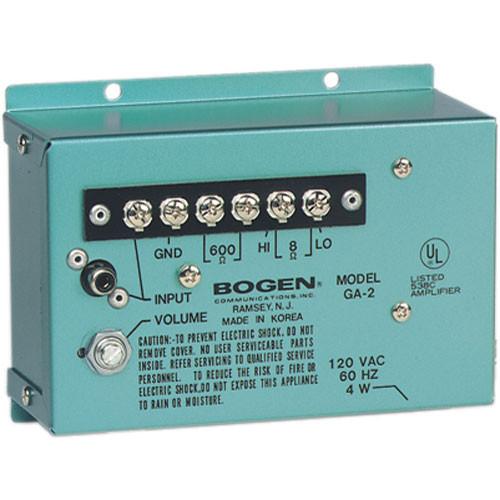 Bogen Communications GA2  1.5W Utility Amplifier
