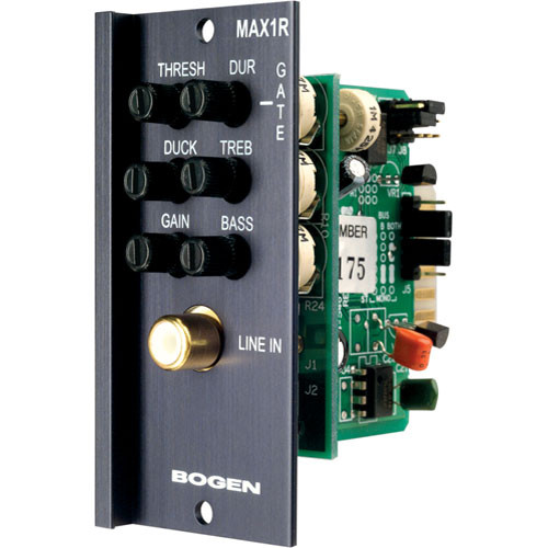 Bogen Communications MAX1R Unbalanced Mono Input Module RCA