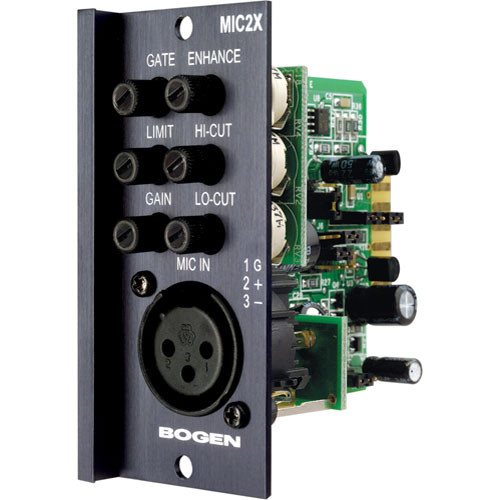 Bogen Communications MIC2X  Electronically-Balanced Microphone Input Module (XLR)