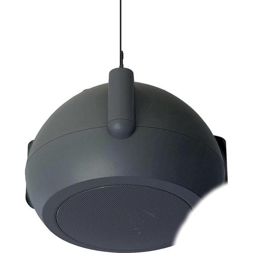 """Bogen Communications MPS1B 4.5"""" Mini Pendant Speaker (Black)"""