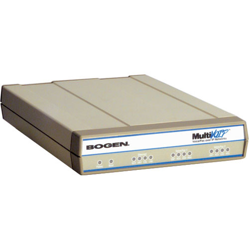 Bogen Communications MultiVOIP MVP210BG - Network Paging Router with Dual Ports