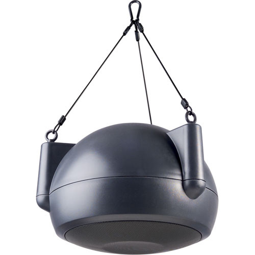 Bogen Communications OPS1B   Orbit Pendant Speaker (Dark Gray)