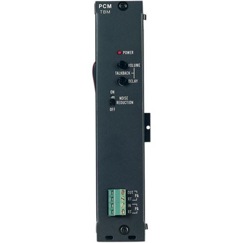 Bogen Communications PCMTBM Talk Back Module for PCM2000