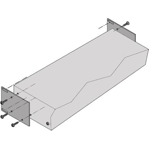 Bogen Communications RPK86 Rear Rack Support Brackets for M-Class Amplifier