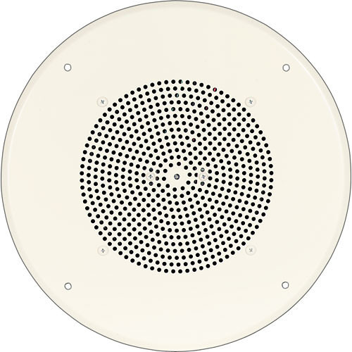 "Bogen Communications Ceiling Speaker Assembly with S810 8"" Cone  (Off White)"