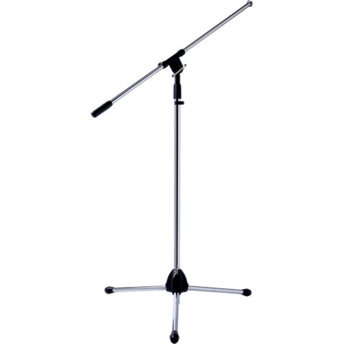 Bogen Communications SB6 Adjustable Tripod Microphone Stand with Boom (Chrome)