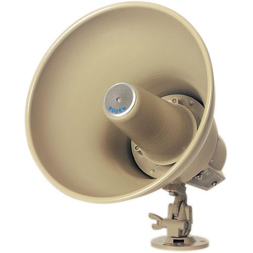 Bogen Communications SP158A 15W Reentrant Horn Loudspeaker for 8-Ohm Amplifiers (Mocha)