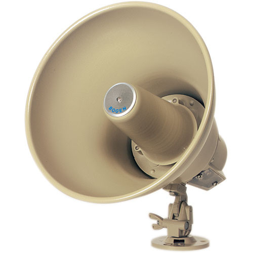 Bogen Communications SP308A 30W Reentrant Horn Loudspeaker for 8-Ohm Amplifiers (Mocha)