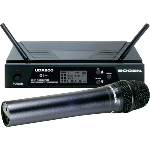 Bogen Communications UDMS800HH Handheld Wireless Microphone System