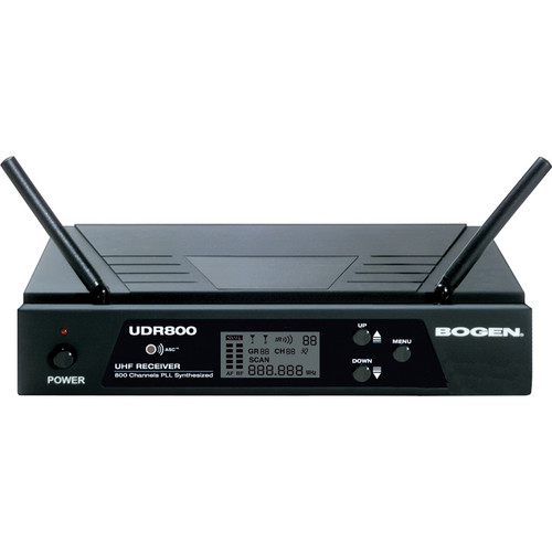 Bogen Communications UDR800 UHF Wireless Microphone Receiver