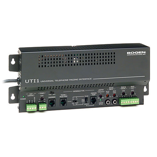Bogen Communications UTI Single Zone Paging Controller