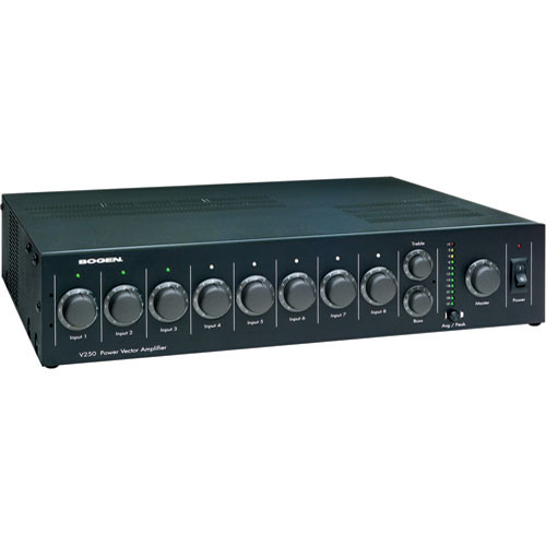 Bogen Communications V100   Power Vector Modular Input Amplifier 100W