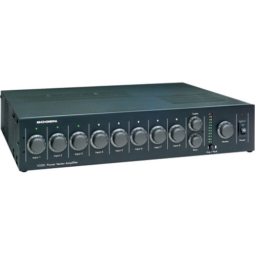 Bogen Communications V250   Power Vector Modular Input Amplifier 250W
