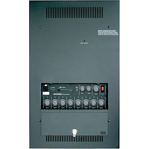 Bogen Communications WV100  Wall Mount Power Vector Modular Input Amplifier 100W