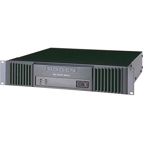 Bogen Communications X600 Black Max Rackmount 70V Power Amplifier (600W per Channel)