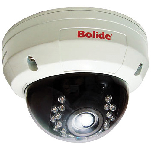 Bolide Technology Group 3 Axis Armored In/Outdoor Infrared Dome Camera