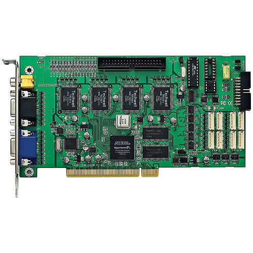 Bolide Technology Group BIC 6000-4KIT  4-Channel H.264 PCI DVR Board w/Software