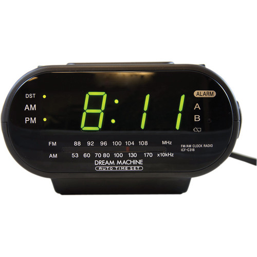 Bolide Technology Group Self Recording SONY Radio Clock Hidden Spy Camera with DVR