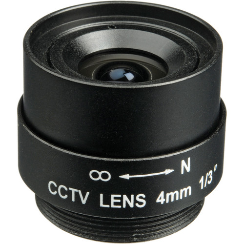 Bolide Technology Group CS-Mount 4mm Fixed Iris Lens