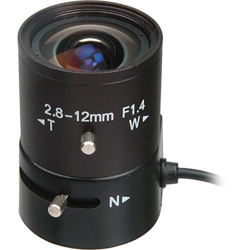 "Bolide Technology Group BP0019-12  1/3"" CS-Mount 2.8-12mm f/1.4 Varifocal Auto Iris Lens"